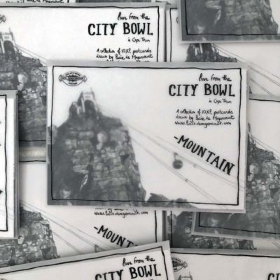 01 City Bowl Mountain – Postcard Pack