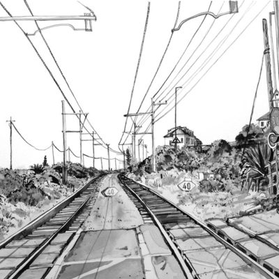 Kalk Bay Rail Crossing